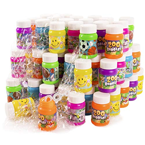 Kangaroo Fun Mini Bubbles, 1 Oz (72_Pack), Summer Party Favors For Kids -
