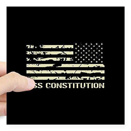 CafePress USS Constitution Square Sticker 3