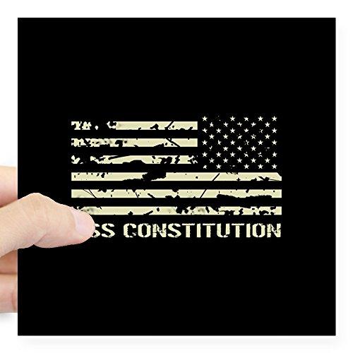 Uss Constitution Warship (CafePress - USS Constitution Square Sticker 3