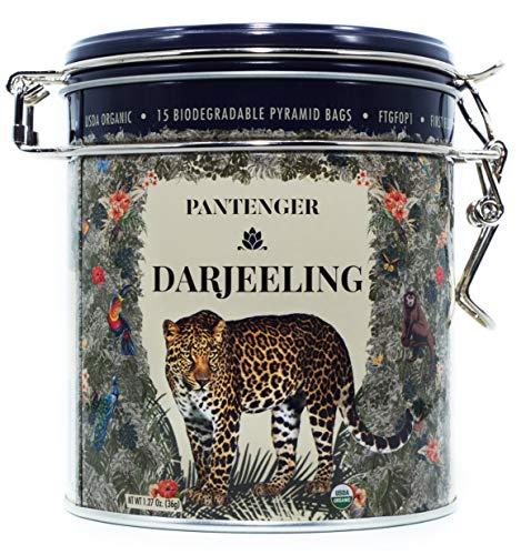 Darjeeling First Flush FTGFOP1. Darjeeling Tea Bags -15 XL Pyramid Sachets- USDA Organic Black Tea Darjeeling. Single Estate. High Altitude Darjeeling Tea Garden. Organic Darjeeling Pyramid ()