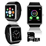 UNLOCKED! GT8 Bluetooth SmartWatch 2-in-1 Phone Built-in Camera – Free 32GB SD!