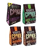 Hershey's Cookie Layer Crunch Variety Pack - *NEW* Triple Chocolate, Vanilla Creme, Mint & Caramel 6.3 oz. (Pack of 4)