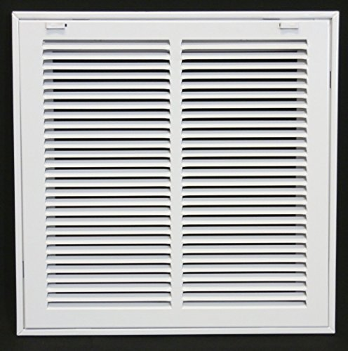 14 x 14 RETURN FILTER GRILLE - Easy Air FLow - Flat Stamped Face by Grills & Registers