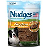 Nudges Sizzlers Dog Treats, Beef & Cheese, 18 Ounce