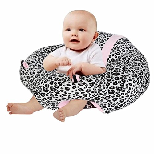 Price comparison product image Perman Baby Chairs,  Baby Infant Safe Seat - U Shaped Cuddle Seat - Made by PP Cotton - Suitable for 2-10 Month (16.9x7.9 inch,  Zebra-1)