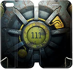 Flip Folio Leather Case for iPhone 6 4.7 inch Cell Phone Case Fallout 4 HPM4612676
