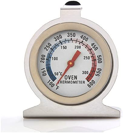 Home Stainless Steel Temperature Oven Thermometer Gauge Kitchen Food Meat DialES