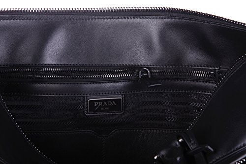 Prada sac à main homme soft noir