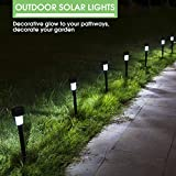Nekepy Solar Lights Outdoor, Solar Powered Pathway