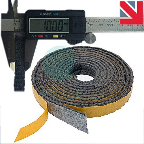 Stove Door Replacement Fibreglass Rope Kit 12mm x 2m Standard Rope