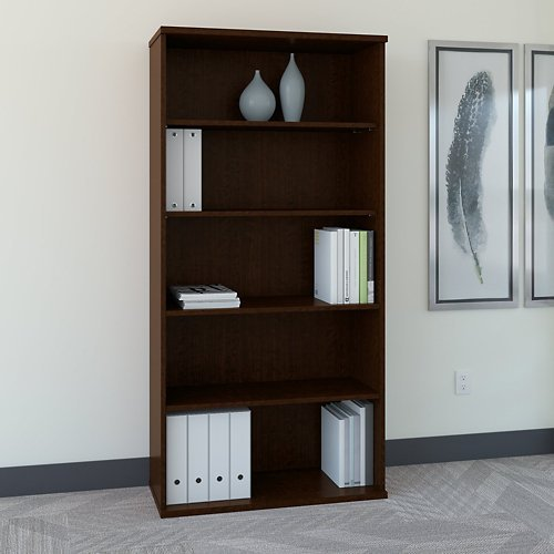 - Series C Five Shelf Bookcase 36