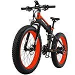 51tTVJHkl7L. SS150 qx Scooter Potente Bici Elettrica 1000W 26 Pollici 4.0 Fat 48V 10Ah Ebike 27 Velocità Mountain Bike Bicicletta…