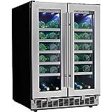 Danby Napa 24' French Door Dual-Zone Wine Cooler