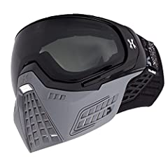 Composed of a robust blend of thermoplastic elastomer, the design of the KLR facemask protects critical areas of the user, while still promoting supreme breathability and freedom of movement. PVTLock - The patent-pending PVT Lock system allow...