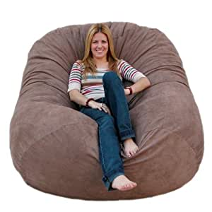 Amazon Cozy Sack 6 Feet Bean Bag Chair Large Earth Kitchen