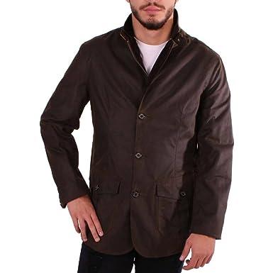 0a8dafa9651 Barbour Men s Lutz Waxed Jacket - Olive  Amazon.co.uk  Clothing