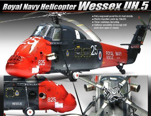 1/48 Wessex UH.5 Royal Navy Helicopter 12299 - Plastic Model Kit