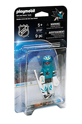 (PLAYMOBIL NHL San Jose Sharks Goalie)
