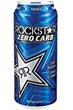 Rockstar Zero Carb Energy Drink, 16-Ounce Cans (Pack of 24)