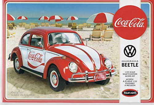 (Polar Lights POL960 1:25 Volkswagen Beetle Coca-Cola-SNAP KIT, Multi)