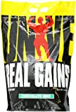 Real Gains Weight Gainer with Complex Carbs and Whey-Micellar Casein Protein Matrix Chocolate Mint 10.6#