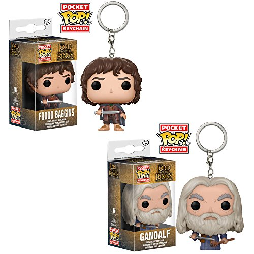Funko Pop! Keychains: Lord of the Rings Series 1 (Set of 2) (Lord Of The Rings Keychains)