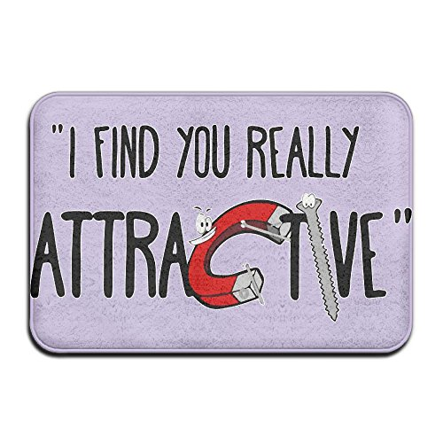 I Find You Really Attractive Skid Resistance Bathroom Mats Non-slip Mat - Really Good Cheers