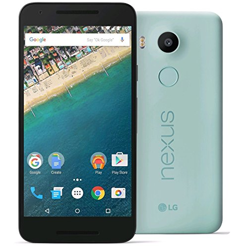 LG Nexus 5X H790 16GB Unlocked 4G LTE Smartphone for all GSM + CDMA Carriers (AT&T, T-Mobile, Verizon, Sprint) w/12MP Camera - Ice Blue (Certified Refurbished)]()