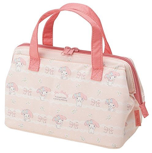 Skater Insulated Coin type lunch bag My Melody Margaret Pattern KGA1 from Japan