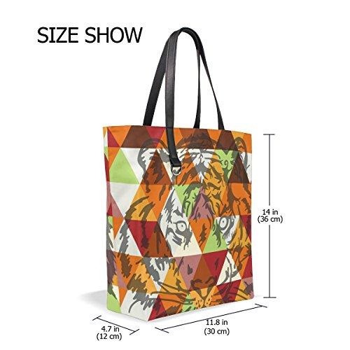 Donna Multicolore Tizorax Stoffa Sacchetto Di x1qp06n