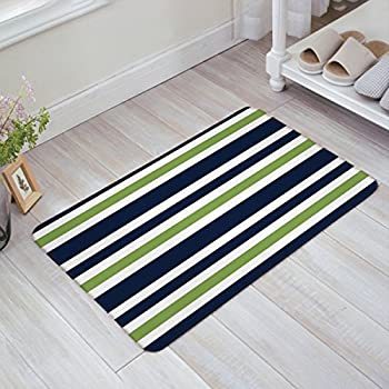 Amazon Com Indoor Doormat Stylish Welcome Mat Navy Blue