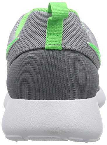 Nike Roshe One (GS) Zapatillas de running, Niños Gris / Blanco (Cl Grey / Grn Strk-Wlf Gry-White)
