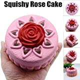 Slow Rising Toy,Toponly Squishy Rose Cake Squeeze