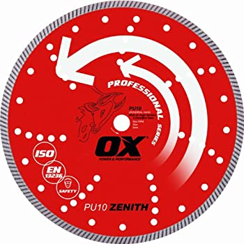 Concord blades ctw120c10cp 12 inch continuous wide turbo teeth ox tools 4 universal superfast diamond blade 78 greentooth Gallery