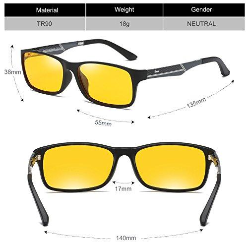 b134a5871e DUCO Glasses for Video Games 223 PRO Anti-Glare Protection - Import It All