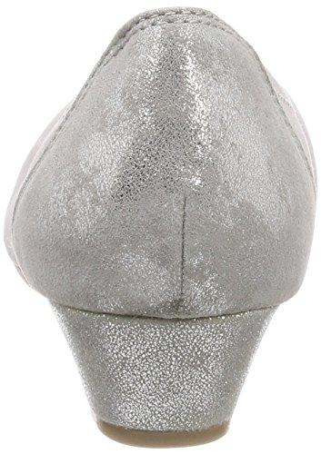 Silver 22203 Grau Jana Pumps Damen Grey XSF1FC