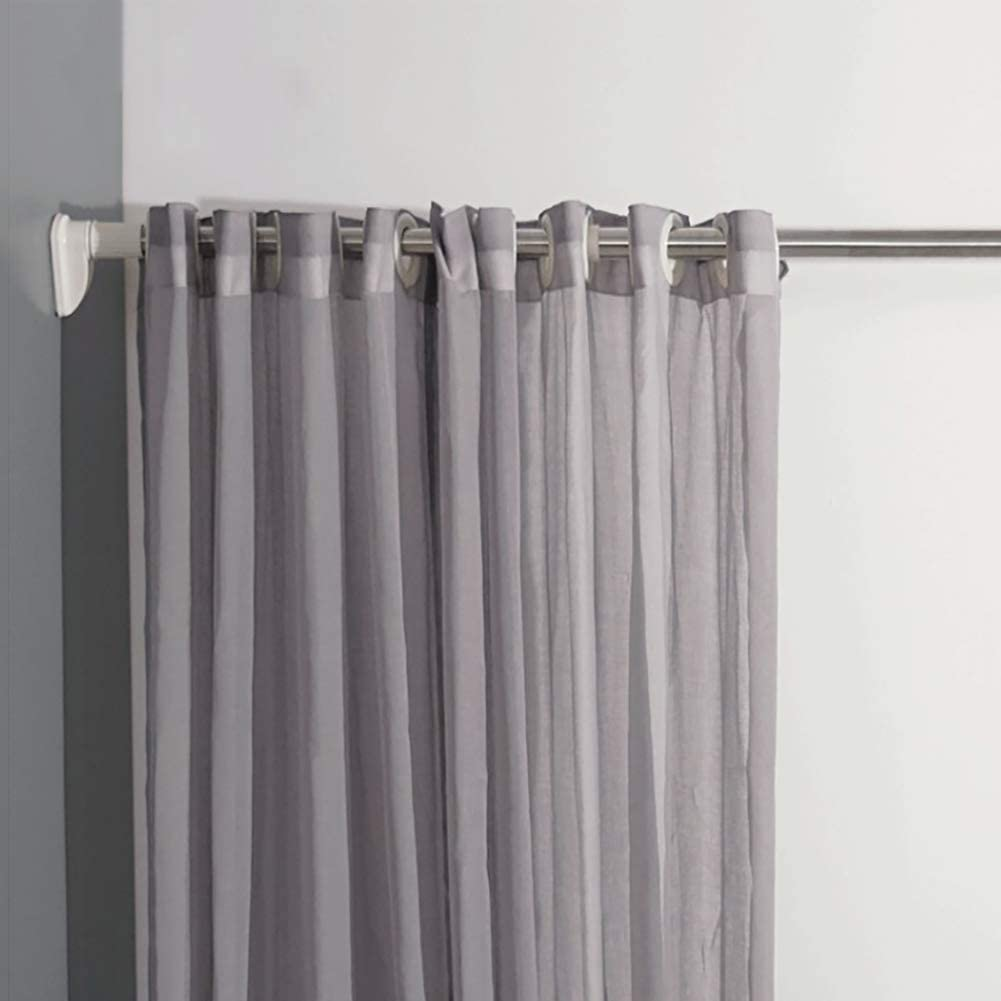 Amazon Com Mevida Drill Free Antirust Adjustable Curtain Rod Telescopic Shower Curtain Rod Extendable Closet Clothes Rod Easy Install Window Single Rod 32mm 185 350cm 73 138inch Home Kitchen,How Much For Wedding Gift Card