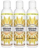 Liposomal Vitamin C - Made in the USA with Non-GMO Sunflower Liposomes - 30 x 1,000 mg Servings (3)