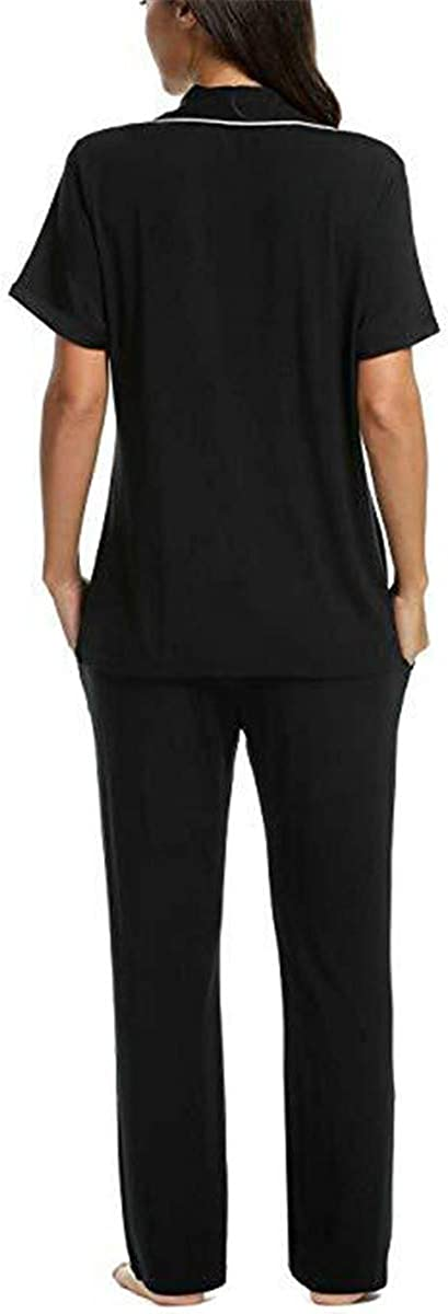 Guyi Pajamas Ladies Large Size Home Service Cotton Short-Sleeved Thin Pajamas Two-Piece
