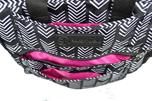 Sarah Wells Kelly Convertible Breast Pump Bag and Backpack (Black and White) by Sarah Wells (Image #9)