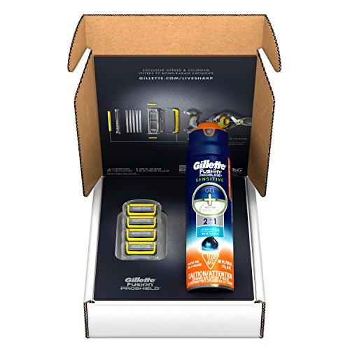 Gillette Fusion ProShield Bundle With 4 Razor Blade