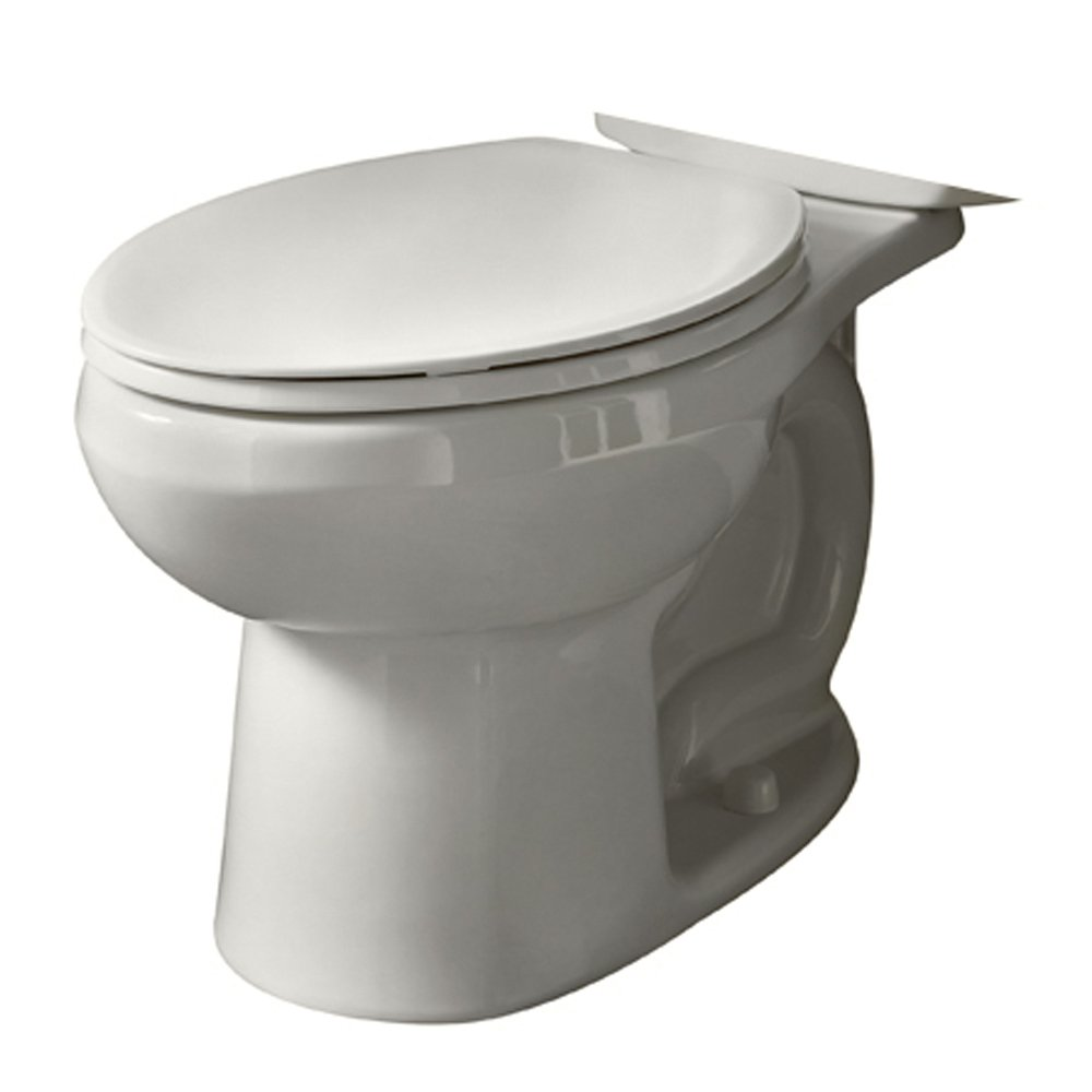 American Standard 3068.001.020 Evolution 2 Elongated Toilet Bowl Only with Right Height Bowl, White