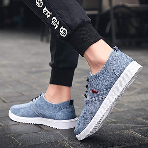 Chaussures Plates Hommes Toile Sonnena Casual de gzwq1d