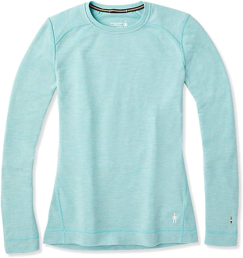 Smartwool Women's Base Layer Top - Merino 250 Wool Active Crew