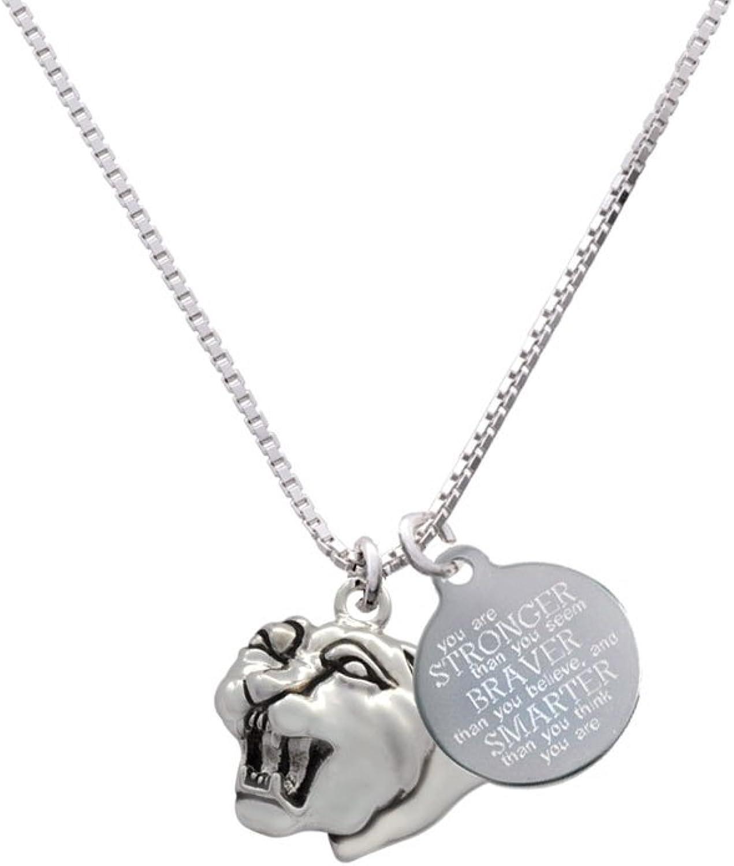 Small Jaguar 18+2 Mascot Heart Locket Necklace