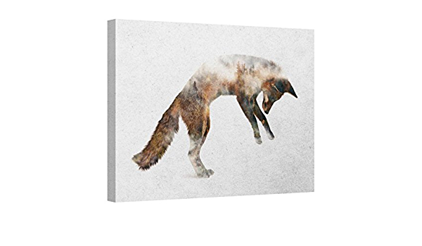 Leaping fox hanging decoration
