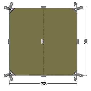 Tatonka Tarp 2 285 x 300 cm Bazil Grün Sonnensegel Außenzelt Wasserdicht 900 g Zelte & Strandmuscheln Zubehör