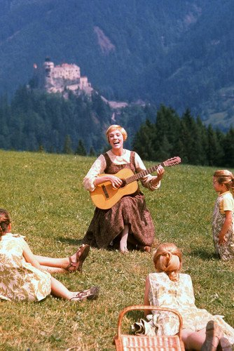 Julie Andrews in The Sound of Music 24x36 Poster from Silverscreen