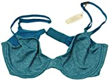 Victorias Secret T-Shirt Bra Unlined Semi Demi Nylon/Poly Blend (36B, Bon Voyage Blue)