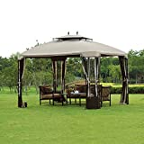 Cheap sunjoy Replacement Canopy Set for 10x12ft Bay Window Gazebo